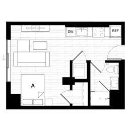 Studio 2 Penthouse