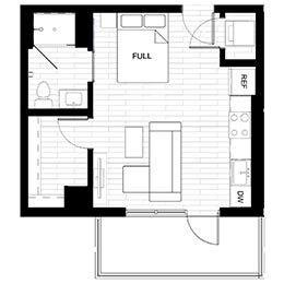 Studio 3 Terrace